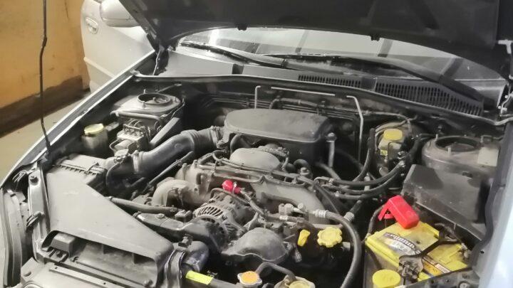 Чип тюнинг Subaru outback 2.5 атмо.